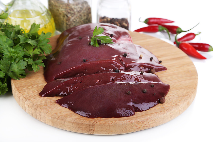 bigstock-Raw-liver-on-wooden-board-with-52472770