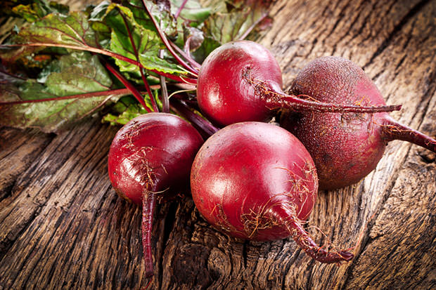 bigstock-Beet-roots-on-a-old-wooden-tab-45753544