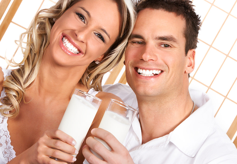 bigstock-Couple-Drinking-Milk-4082213