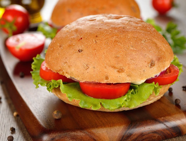 bigstock-Vegetarian-Burger-With-Vegetab-47848829