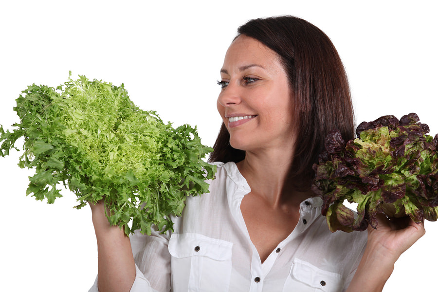 bigstock-Woman-with-salad-heads-42456775