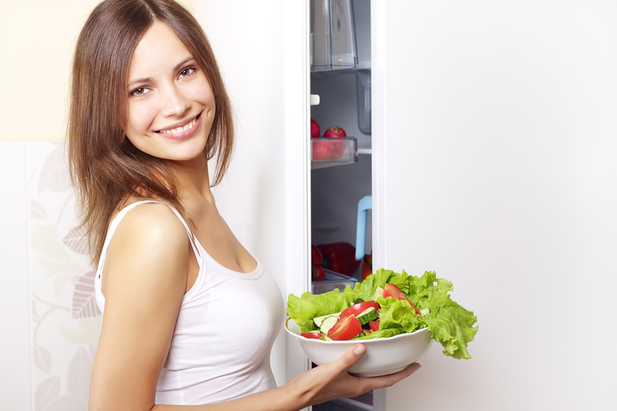 bigstock-Young-Woman-With-Healthy-Salad-23104511