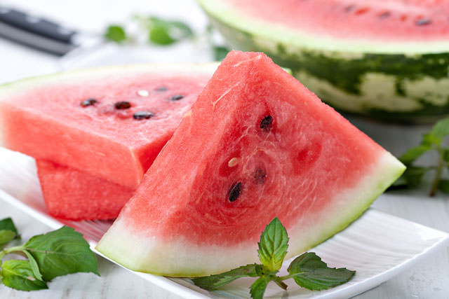 bigstock-fresh-watermelon-slices-on-a-w-47365234