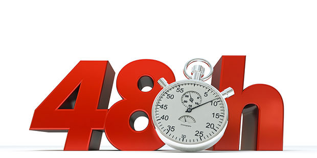 bigstock--D-rendering-of--Hrs-in-red--17926229