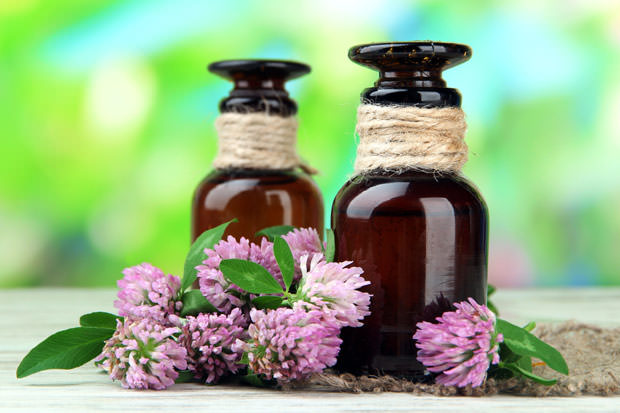 bigstock-Medicine-bottles-with-clover-f-49101059