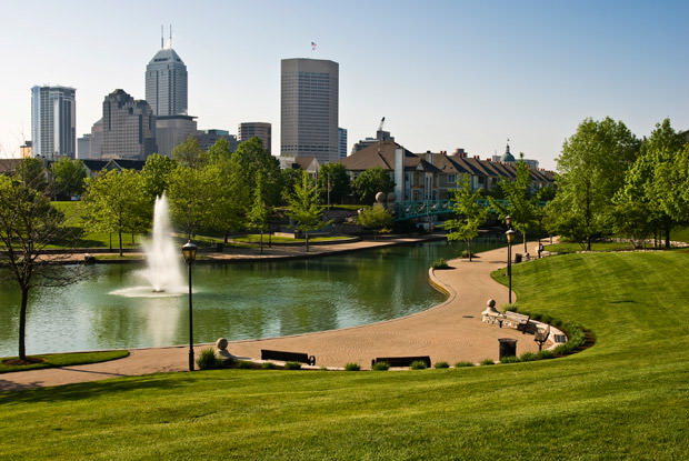 Indianapois Skyline