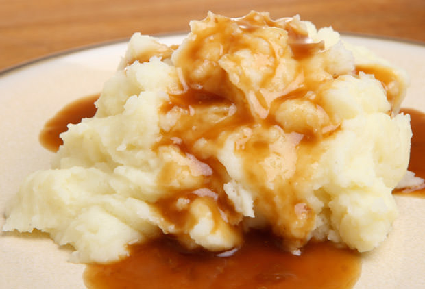 Mashed Potato with Gravy